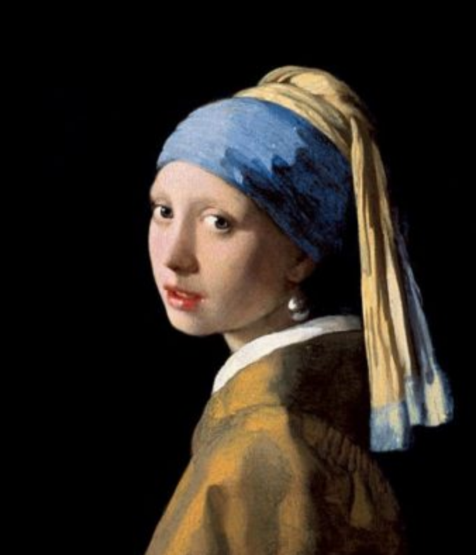 Johannes Vermeer's Girl with the Pearl Earring - Oil painting - Image from Wikipedia