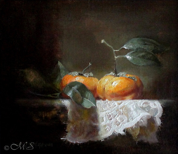 Panoply - a still life oil painting by Margret E. Short