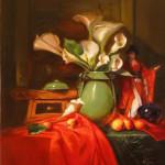 Red Envelope Callas