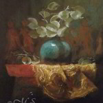 Gifts from the Nubians 10x8 inches Oil on Panel © Margret E. Short,  OPA, AWAM