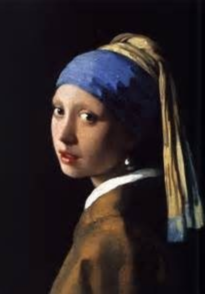 Johannes Vermeer's Girl with the pearl earring | oil painting