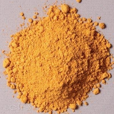 Natural Lemon Ochre Pigment