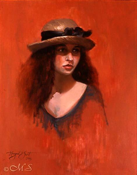 Portrait of Lisa Copyright Margret E. Short